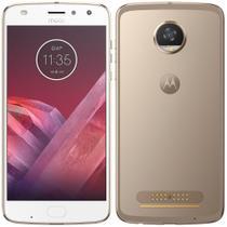 "Smartphone Motorola Moto Z2 Play, 5,5"", 4G, 12MP, 64GB, 4G RAM - Dourado -"