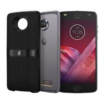 Smartphone Motorola Moto Z2 Play 64GB New SoundBoost 2 XT1710 Platinum, Android 7.1.1 Nougat, Câmera 12MP, Tela 5.5