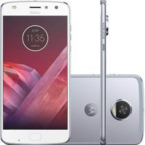 "Smartphone Motorola Moto Z2 Play Azul Topázio DualChip 64GB Tela 5.5"" Câmera 12 MP -"