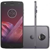 "Smartphone Motorola Moto Z2 Play Dual Chip Android 7.0 Tela 5.5"" Octa-Core 64GB Wi-Fi 4G Câmera 12MP ( Preto) -"