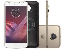 Smartphone Motorola Moto Z2 Play+Moto Stereo - Speaker 64GB Ouro Dual Chip 4G Câm. 12MP