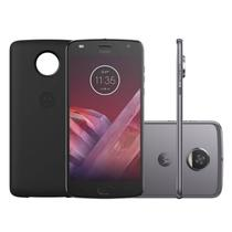Smartphone Motorola Moto Z2 Play Platinum Power Edition DualChip 64GB Tela 5.5