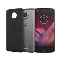 "SmartPhone Motorola Moto Z2 Play Power 64GB Tela 5.5"" Cam 12MP 4GB Platinum XT1710 P -"