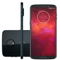 "Smartphone Motorola Moto Z3 Play 64gb Dual Android 8.1 Tela 6"" Octacore 636 1.8Ghz 12 MP+5 MP Índigo -"