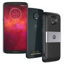 Smartphone Motorola Moto Z3 Play Power Pack DTV 64gb Tela 6 Dual Chip Octa-Core Indigo -