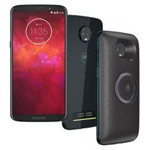 Smartphone Motorola Moto Z3 Play Stereo Speaker, 64GB, 6, Dual Chip, Android 8.1, 4GB - Indigo