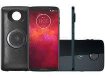 Smartphone Motorola Moto Z3 Play - Stereo Speaker Edition Dual Chip Android Oreo - 8.0 Tela 6