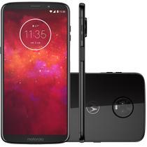 "Smartphone Motorola Moto Z3 Play XT1929/O 6"" 128GB Câmera 12MP + 5MP Dual + Frontal 8MP Android Ônix -"