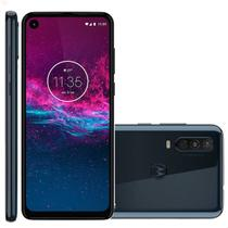 Smartphone Motorola One Action 128GB 4G Tela 6.3'' Dual Chip 4GB RAM Câmera Tripla + Selfie 12MP Azul Denim -