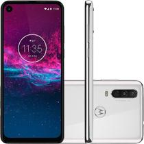 "Smartphone Motorola One Action 128GB Dual Pie 9.0 Tela 6.3"" Exynos 9609 (S925) 4G Câmera 12+5+16MP -"