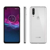 "Smartphone Motorola One Action XT2013-1 6.3"" Branco 128GB 4GB RAM -"