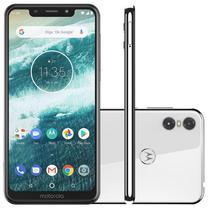 """Smartphone Motorola One Branco 64GB 4GB RAM Tela de 5.9"""" Câmera Traseira Dupla Dual Chip -"""