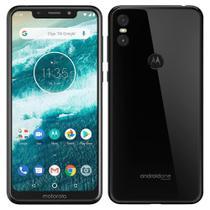 "Smartphone Motorola One, Dual Chip, Preto, Tela 5,86"", 4G+WIFI+NFC, Android, Câmera traseira 13+2 MP, 64GB -"