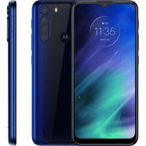 """Smartphone Motorola One Fusion 6.5"""", 128 GB, Android 10, Dual Chip, Câmera Quádrupla, Azul -"""