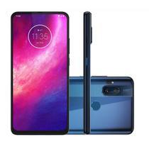 """Smartphone Motorola One Fusion+ 6.5"""", 128 GB, Android 10, Dual Chip, Câmera Quádrupla, Azul -"""