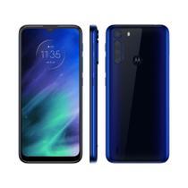 Smartphone Motorola One Fusion 64GB 4GB RAM Tela 6,5 Câm. Quádrupla + Selfie 8MP Azul Safira -