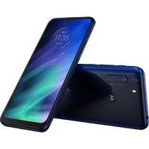 "Smartphone Motorola One Fusion Dual Chip Android tela 6.5"" 128GB Wi-Fi Câmera 48MP+8MP - Azul Safira -"