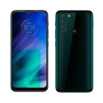 "Smartphone Motorola One Fusion Verde Esm., Tela 6.5"", 4G+Wi-Fi, Android, Câm.Traseira 48 + 8 + 5 + 2 MP, Frontal 8MP, 128GB -"