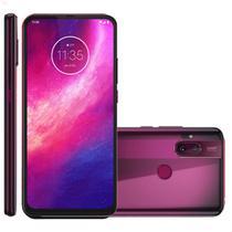 Smartphone Motorola One Hyper 128GB 4G Tela 6.5'' Dual Chip 4GB RAM Câmera Dupla + Selfie 32MP - Rosa Boreal -