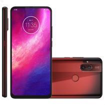 Smartphone Motorola One Hyper 128GB 4G Tela 6.5'' Dual Chip 4GB RAM Câmera Dupla + Selfie 32MP - Vermelho Ambar -