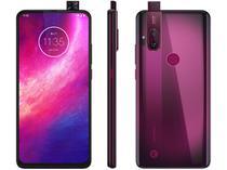 "Smartphone Motorola One Hyper 128GB Rosa Boreal - 4G 4GB RAM 6,5"" Câm. Dupla + Câm Selfie 32MP"