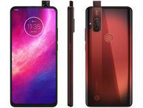 """Smartphone Motorola One Hyper 128GB Vermelho Âmbar - 4G 4GB RAM 6,5"""" Câm. Dupla + Câm Selfie 32MP"""