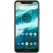 "Smartphone Motorola One XT1941-4 Dual SIM 64GB de 5.9"" 13+2MP/8MP OS 8.1.0 - Branco -"