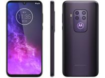"Smartphone Motorola One Zoom 128GB Violet 4G  - 4GB RAM 6,4"" Câm. Quadrupla + Câm. Selfie 25MP"