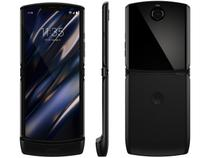 "Smartphone Motorola Razr 128GB Black 4G - Snapdragon 710 6GB RAM 6,2"" Câm. 16MP + Selfie 5MP"