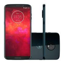 Smartphone Motorola Z3 Play Dual Chip Android 8.0 Tela 6 64GB 4G Câmera 12MP+5MP Dual Câmera -