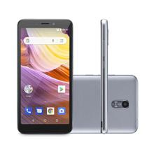 "Smartphone MS50G 8GB 5,5"" Dual Chip Prata/Preto MULTILASER -"