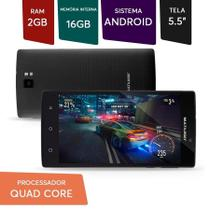 Smartphone Ms60f 4g 2gb Ram 16gb Android Tela 5,5 Dual Preto - Multilaser
