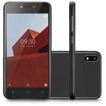 Smartphone Multilaser E 3G 32GB Tela 5.0 Quad Core Câmera Traseira 5MP + 5MP Frontal Preto - P9128 -