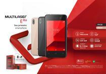 Smartphone Multilaser E Lite 3G 32GB Tela 4.0 - Preto  P9126 -