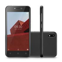 "Smartphone Multilaser E P9128 32GB Dual Chip 3G Tela 5.0"" Câmera 5MP Frontal 5MP Android 8.1 Preto -"