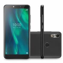 "Smartphone Multilaser F P9130 32GB Dual Chip Tela 5.5"" Câmera 5MP Frontal 5MP Android 9 Preto -"