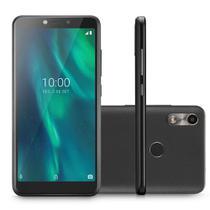 Smartphone Multilaser F P9130 32GB Dual Chip Tela 5.5 Câmera 5MP Frontal 5MP Preto -