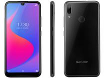 "Smartphone Multilaser G Pro 32GB Preto 4G - Octa-Core 2GB Tela 6,1"" Câm. Dupla + Selfie 5MP"