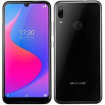 "Smartphone Multilaser G Pro, Preto, Tela 6,1"", 4G+Wi-Fi, Android, Câm Traseira 13+2MP e Frontal 5 MP, 32GB -"