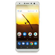 Smartphone Multilaser MS80 4G 32GB Tela 5,7 Pol. HD RAM 3GB Android 7.1 Qualcomm Dual Camera 20MP+8M