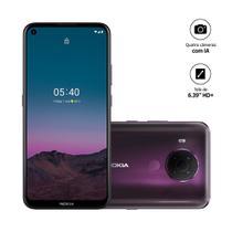 """Smartphone Nokia 5.4 128GB 4GB RAM Câmera Quádrupla 48.0MP Tela 6,39"""" - Roxo -"""