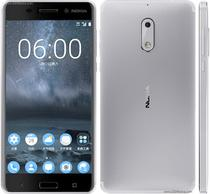 Smartphone Nokia 6 dual chip Android 7.1 Tela 5.5 32GB 4G Camera 16MP - Prata