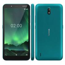 Smartphone Nokia C2 16gb 1gb Ram 5,7 Dual Chip Verde Ciano -