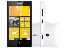 "Smartphone Nokia Lumia 520 3G Windows Phone 8 - Câmera 5MP Tela 4"" Proc. Dual Core Desbl. Oi"
