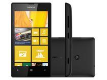 "Smartphone Nokia Lumia 520 3G Windows Phone 8 - Câmera 5MP Tela 4"" Proc. Dual Core Wi-Fi A-GPS"