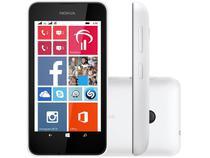 "Smartphone Nokia Lumia 530 Dual Chip 3G  - Câm. 5MP Tela 4"" Proc. Quad Core Windows Phone 8.1"