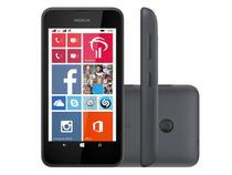 "Smartphone Nokia Lumia 530 Dual Chip 3G  - Windows Phone Câm. 5MP Tela 4"" Qualcomm Snapdragon"