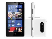 "Smartphone Nokia Lumia 820 4G Windows Phone 8 - Câmera 8MP HD Tela 4.3"" Wi-Fi Proc. Snapdragon S4"