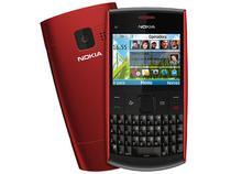 Smartphone Nokia X2-01 OS S40 6th Câmera MP3 - Teclado Qwerty Cartão 2GB Desbloqueado Claro