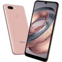 Smartphone Philco Hit Max 128gb 4gb Ram Dual Chip Octa-core Tela 6 Bateria 4000 mah - Rose -